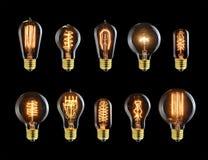 Ampoules de vintage Photographie stock
