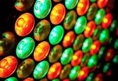 ampoules du fond DEL Photographie stock libre de droits