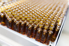 Ampoules factory Royalty Free Stock Photos