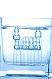 Ampoules médicales photographie stock libre de droits