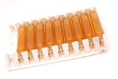 Ampoules médicales Photo libre de droits