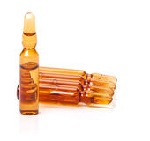 Ampoules, medicine, serum Royalty Free Stock Images