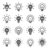 Ampoules réglées Photos libres de droits