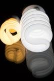 Ampoules reflétées Photo libre de droits