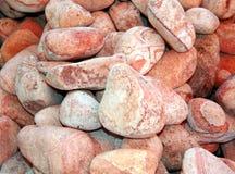 Ampuła gładcy różowi dekoracyjni kamienie dla dekoraci Zdjęcie Royalty Free