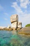 Ampuła kamienia łuku sterta pod słońca światłem Zdjęcie Royalty Free