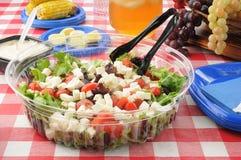 ampuła picnic sałatka stół Zdjęcie Stock