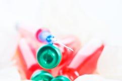 ampułki szczepionka zdjęcie royalty free