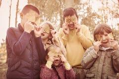 Ampuły grupa dzieci zdjęcie stock