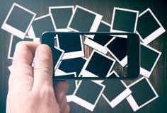 Ampuły grupa starzy filmy zdjęcia stock