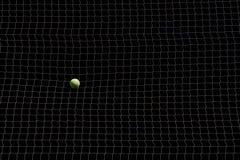 Ampuły sieć z tenisową piłką Obrazy Stock