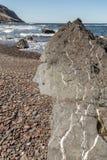 Ampuły skała z Białymi żyłami Zdjęcie Royalty Free