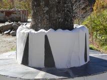 Ampuła betonu garnek Obraz Royalty Free