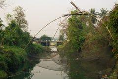 Ampuł sieci dla chwyta ryba Zdjęcie Royalty Free