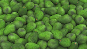 Ampuła stos Avocado Obrazy Royalty Free