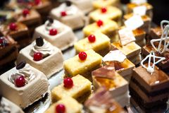 Ampuła talerz Arabski cukierki Zdjęcia Royalty Free