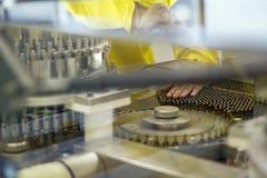 Ampule/Vial Inspection Machine Lizenzfreies Stockbild