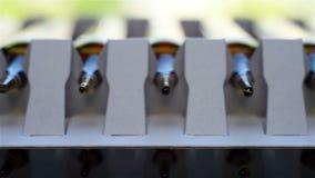 Ampule Of Vitamins stock footage