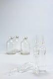 Ampules i buteleczki obrazy royalty free