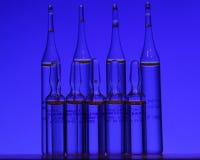 Ampules van Medcine Royalty-vrije Stock Foto's