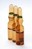 Ampules voor farmaceutisch gebruik Royalty-vrije Stock Fotografie