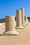 ampurias kolumn grka ruiny Obraz Royalty Free
