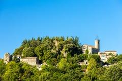 Ampus, Провансаль, Франция стоковые фото
