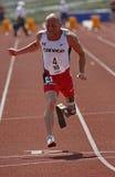 Amputato Earle Connor del Canada Paralympic Fotografie Stock