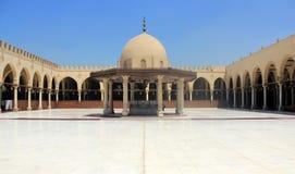 Amr Ibn El驴子清真寺 库存照片