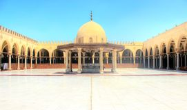 Amr Ibn El Ass Mosque Immagini Stock Libere da Diritti