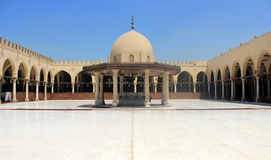 Amr Ibn El Mosque stock photo