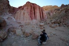 Amram Pillars-rotsvormingen stock foto's