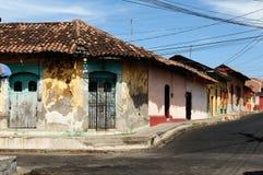 América Central, Nicarágua, vista na cidade velha de Leon Foto de Stock