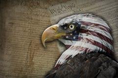 América, um sonho da liberdade. Imagens de Stock Royalty Free