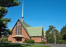 Américain Christian Church Photographie stock libre de droits