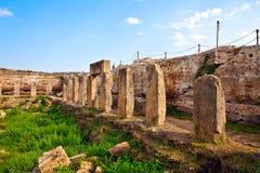 amrit古老安排叙利亚tartus 免版税库存照片