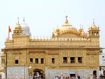 amritsar χρυσός ναός ηλιοβασιλέματος της Ινδίας Στοκ Εικόνες
