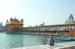 Amritsar Golden Temple. Stock Photography