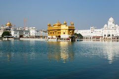 Amritsar, Golden Temple, India Royalty Free Stock Photos