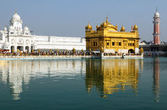 Amritsar, Golden Temple, India royalty free stock photo