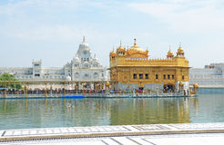 Amritsar goldent temple complex punjab india Royalty Free Stock Photography