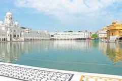Amritsar goldent temple complex punjab india Royalty Free Stock Image