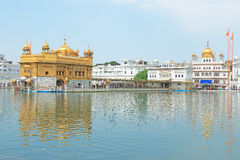 Amritsar goldent temple complex punjab india Royalty Free Stock Photo