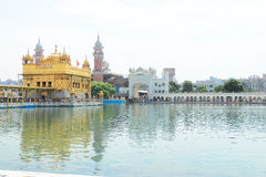 Amritsar goldent temple complex punjab india royalty free stock images