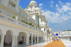 Amritsar goldent temple complex punjab india Stock Images