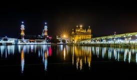 amritsar guld- india punjab tempel Royaltyfria Bilder