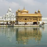 Amritsar, Harmandir Sahib Lizenzfreies Stockfoto