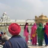 Amritsar, Harmandir Sahib Lizenzfreie Stockfotos