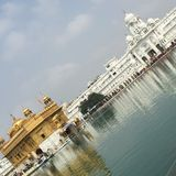 Amritsar, Harmandir Sahib Royalty Free Stock Photography