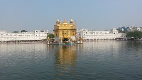 Amritsar golden temple stock image